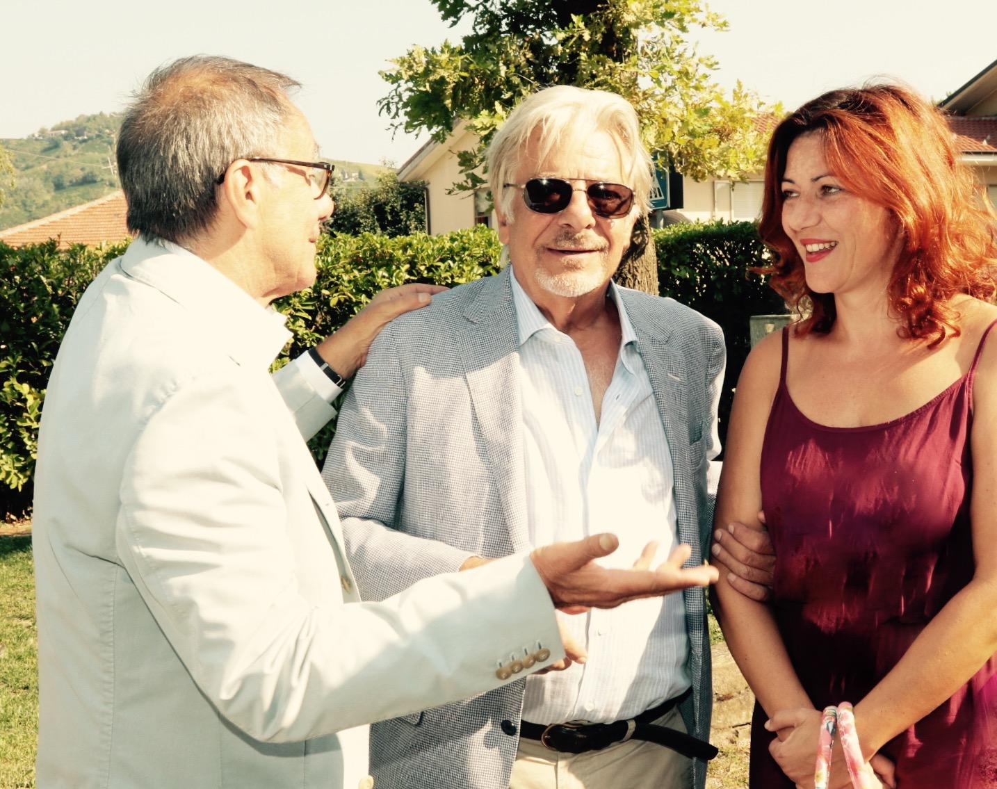 Con Vecchioni e Giannini, al PREMIO Cesare PAVESE (vinto!)