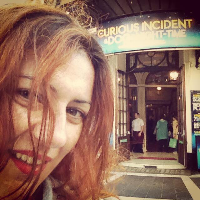 Lo strano caso del cane ucciso a mezzanotte, visto al London Theatre! Ecco le mie interviste (in inglese)