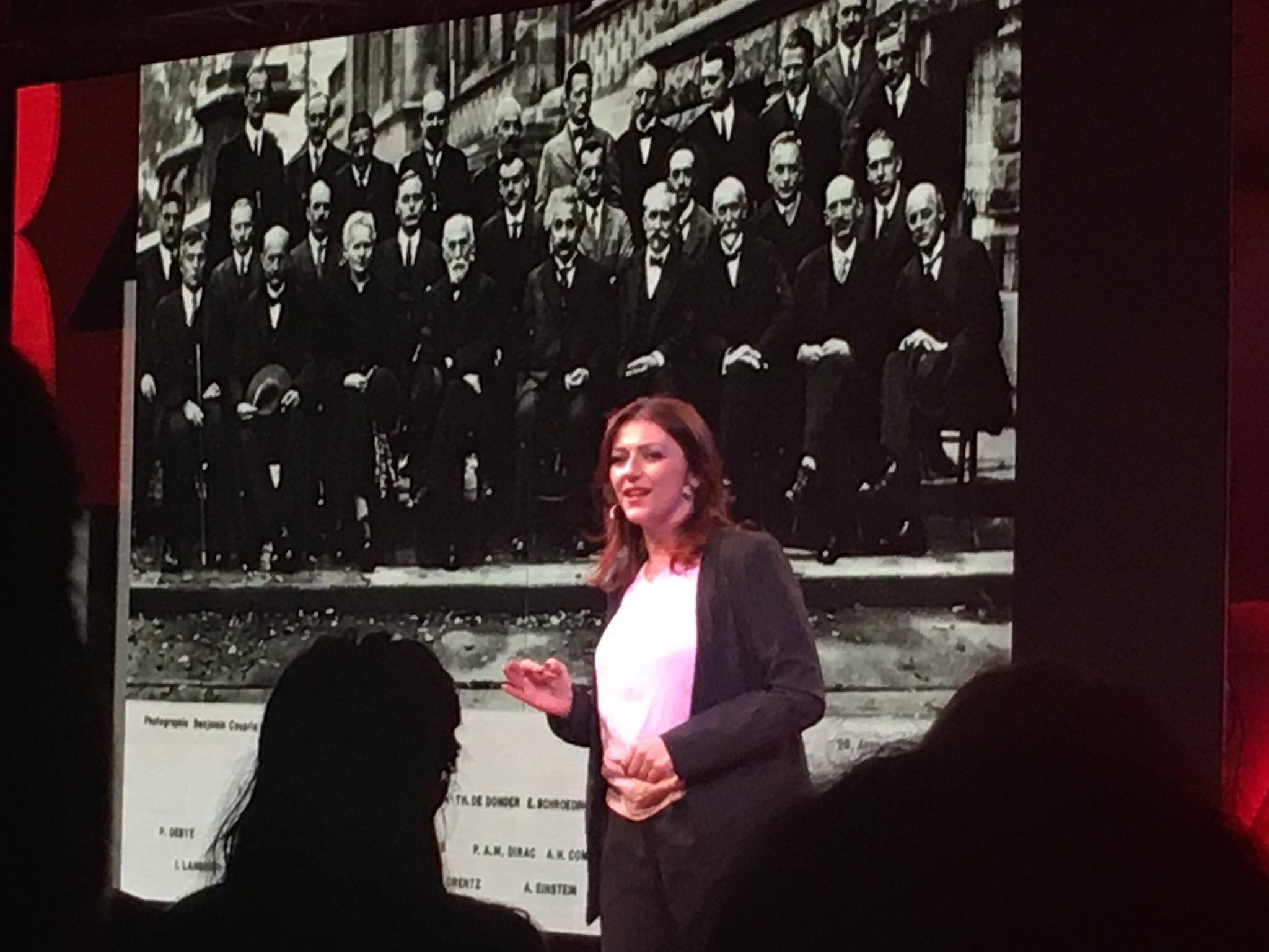 L'8 marzo ho fatto un TED sul mio monologo quantistico…è stato bello!