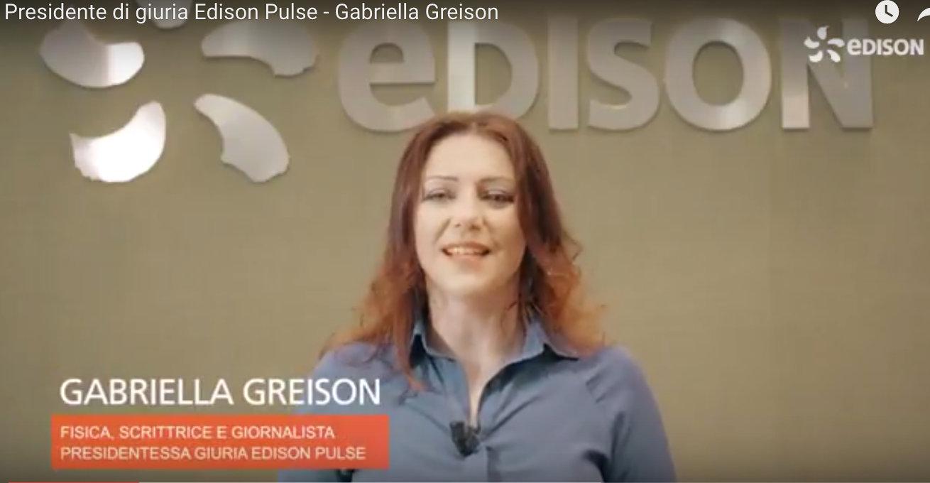 Edison Pulse / ecco il bando, iscrivetevi! In qualità di Presidente di Giuria…ci vediamo a giugno per la premiazione finale!