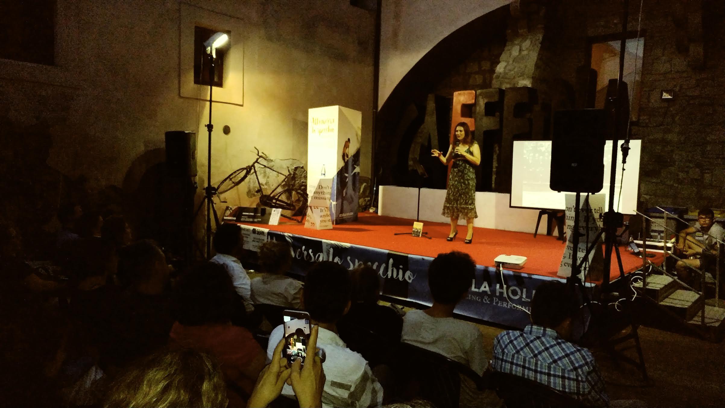 Al Festival Caffeina di Viterbo con L'INCREDIBILE CENA DEI FISICI QUANTISTICI…ecco il racconto della magnifica serata