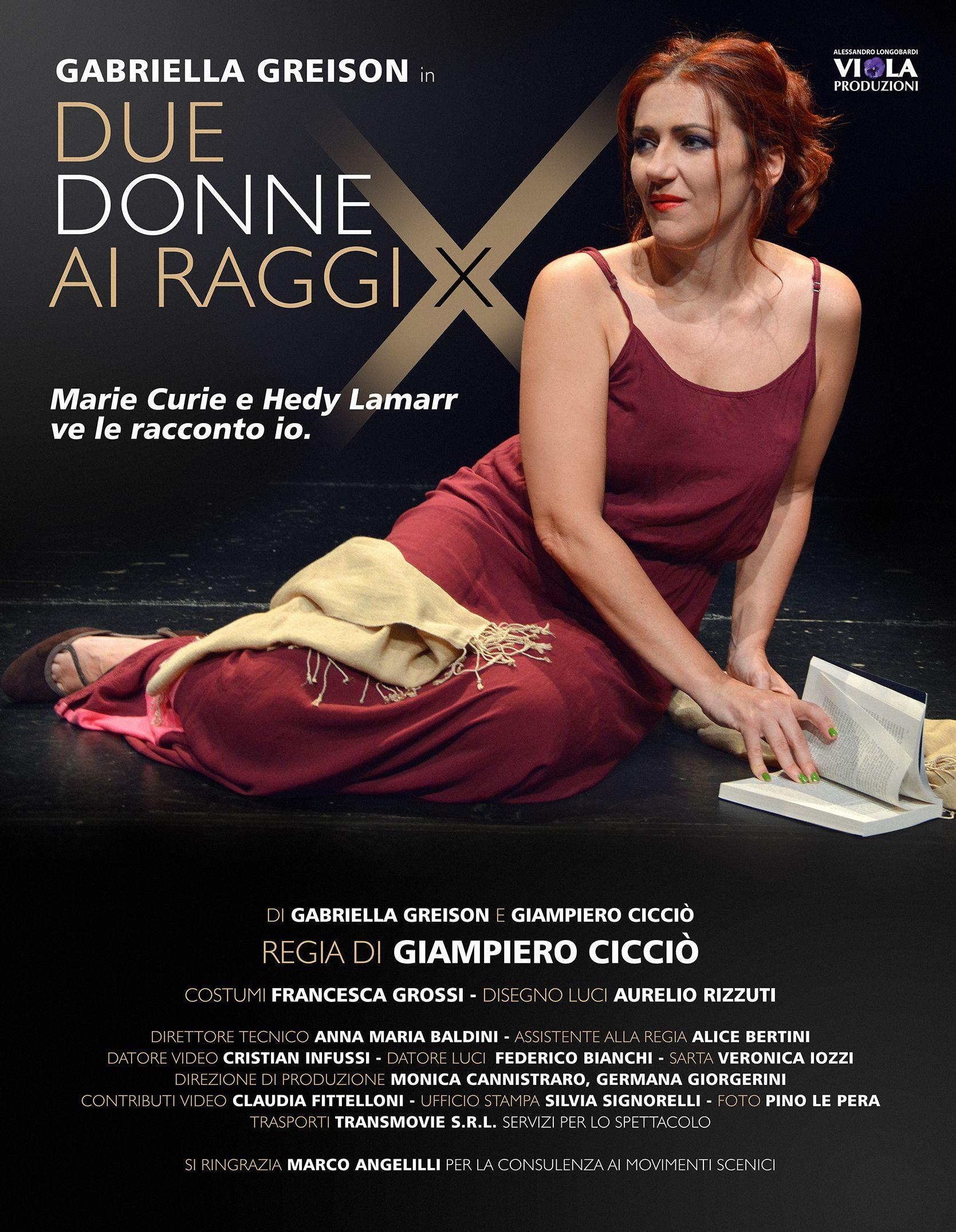 Ecco i primi scatti fotografici, la locandina e un po' di rassegna stampa…DUE DONNE AI RAGGI X è al Teatro Sala Umberto di Roma martedì 7 novembre ore 21!!!!