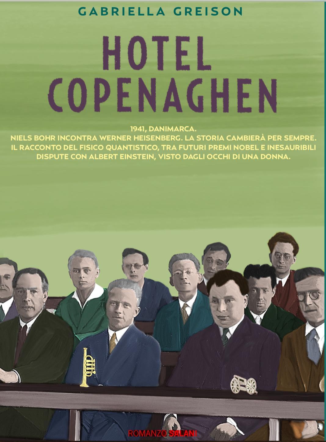 Svelata la copertina del nuovo romanzo HOTEL COPENAGHEN! Ed ecco il primo booktrailer… (esce il 15 marzo 2018 in libreria, segnatevi la data!)