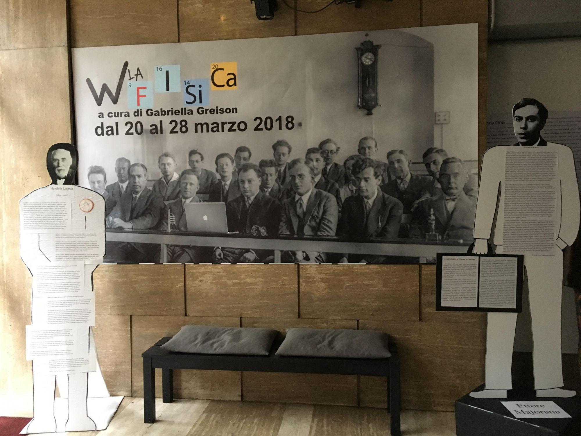 E' iniziato il FESTIVAL DELLA FISICA a Milano…venite! E il teatro si sta riempiendo di sagome a grandezza umana (scoprite perché)…