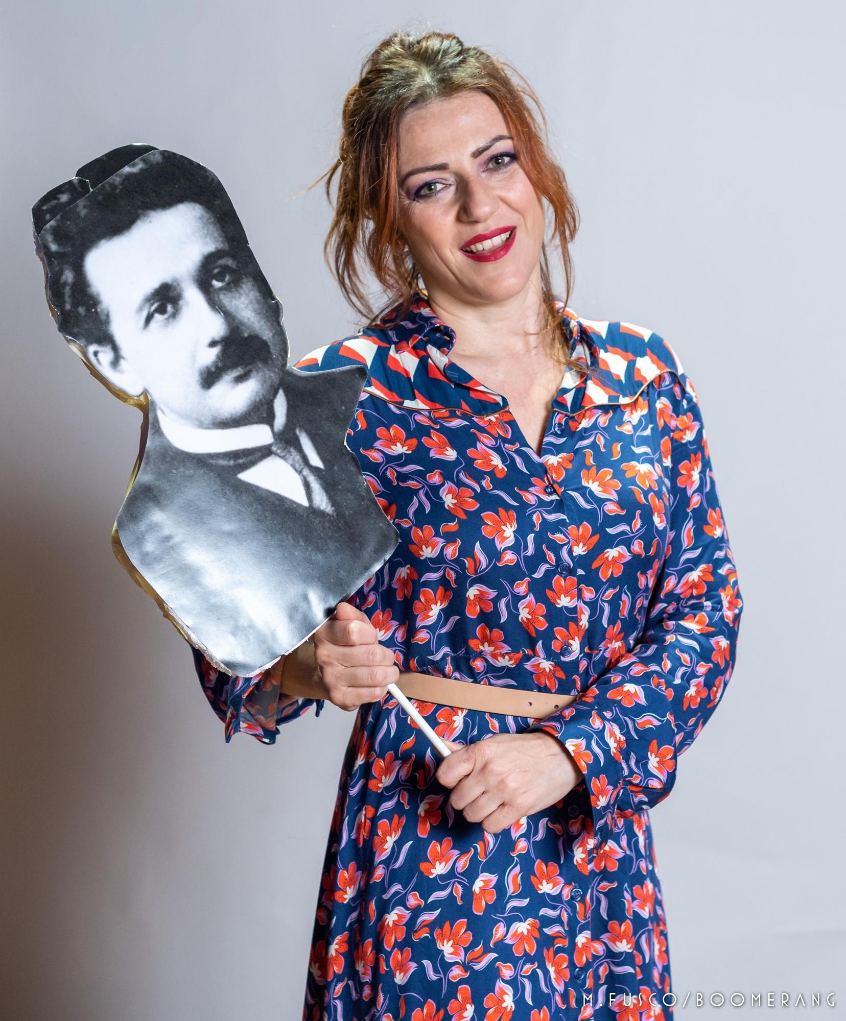 """""""Einstein e io"""" (il mio nuovo romanzo) """"Einstein & me"""" (il mio nuovo monologo teatrale)…sono le mie novità di settembre 2018!"""