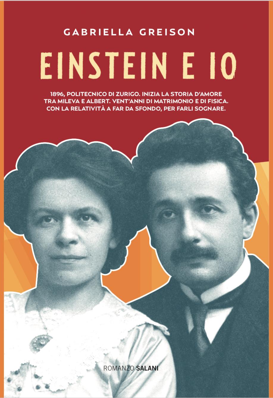 Ed ecco svelata la copertina del mio nuovo romanzo EINSTEIN E IO…quanto è bella?!