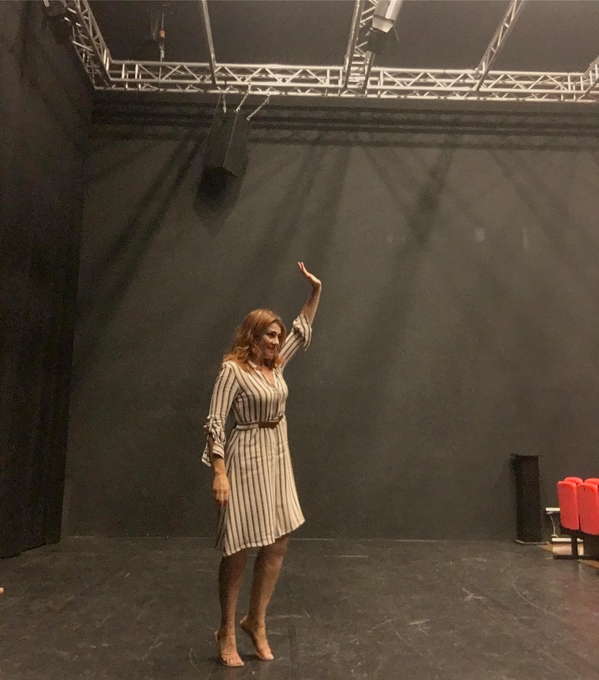 Ho iniziato le prove di EINSTEIN & ME al teatro Elfo-Puccini di Milano…saranno 20 giorni intesi!