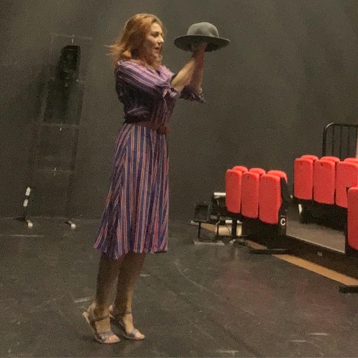 Seconda settimana di prove al teatro Elfo Puccini per EINSTEIN & ME…e mi piace sempre di più!