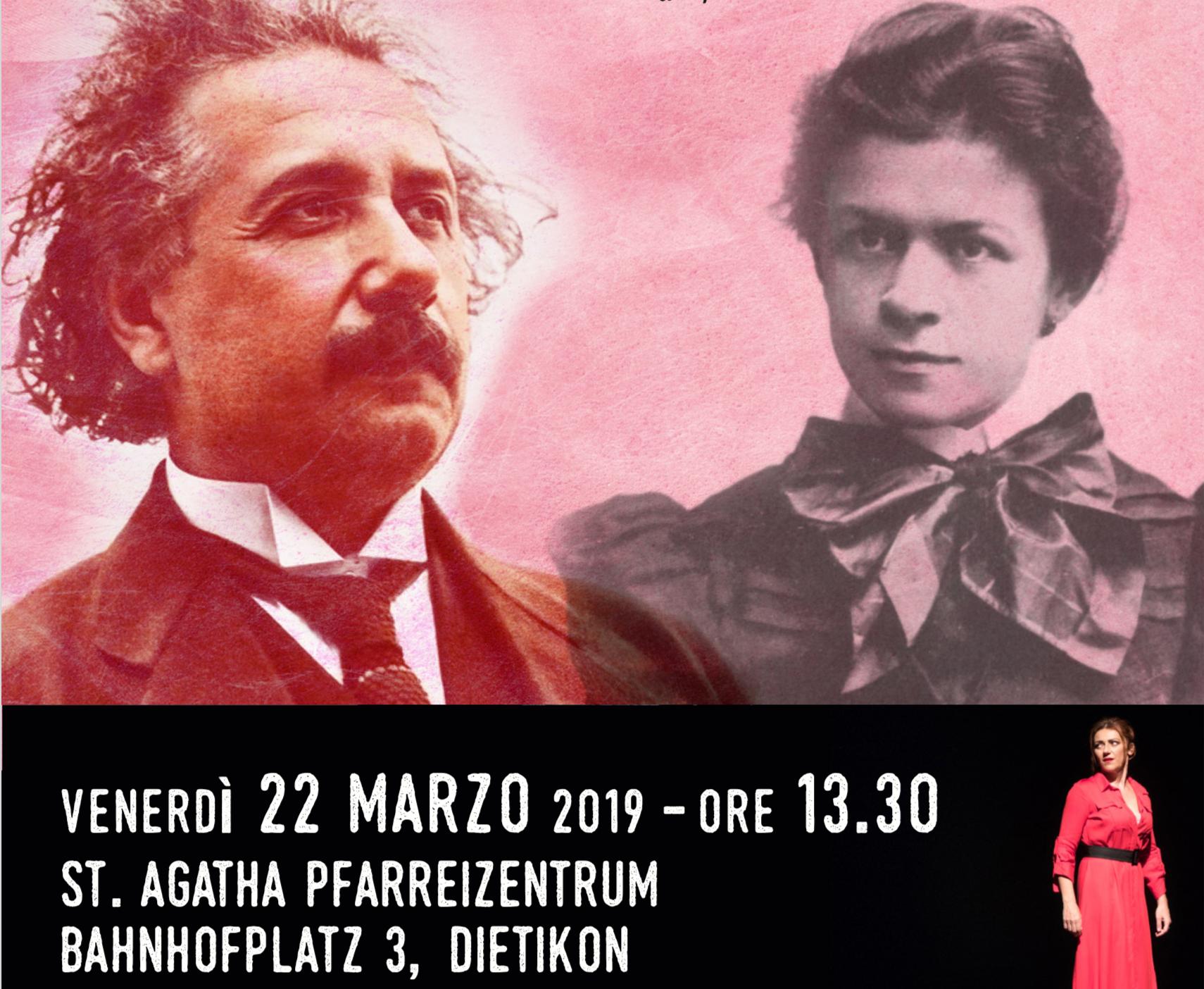 """Vado a Zurigo con """"Einstein & me"""" …e finalmente riporto Mileva e Albert in Svizzera!"""