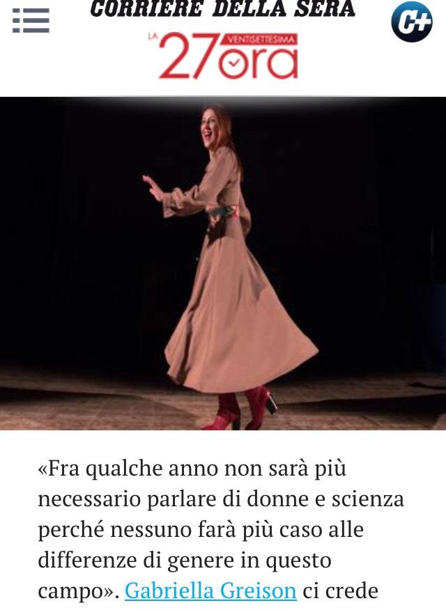 Nel blog 27ora del Corriere parlano di me: sono venuti a vedermi a teatro una sera, e questo l'articolo uscito, con tante anticipazioni…