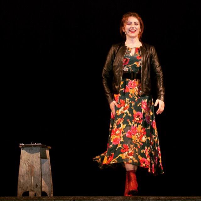 Con il mio monologo DUE DONNE AI RAGGI X al Teatro Morlacchi di Perugia strapieno, serata organizzata dall'Università…