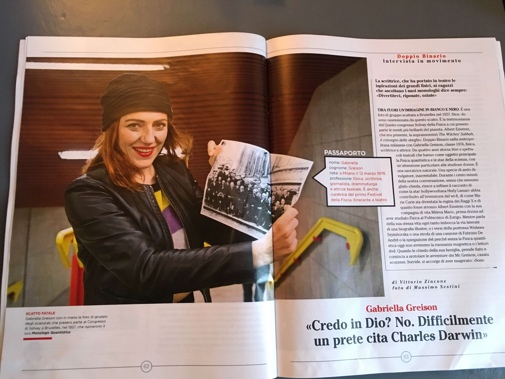 Sull'allegato del Corriere della Sera mi intervistano per 5 (cinque!) pagine…wow!