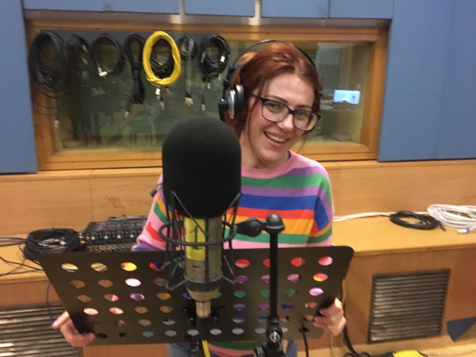 Ero ospite a PiazzaVerdi su Rai Radio3…intervista di mezzora con tre pezzi del monologo EINSTEIN & ME…
