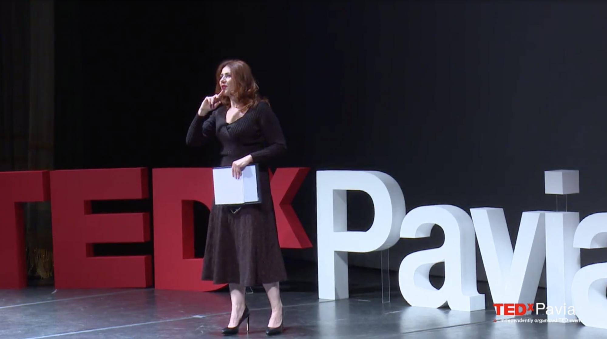 Ho condotto io il TEDxPavia al Teatro Fraschini, e in apertura monologo su Einstein (che Pavia la conosce eccome)!