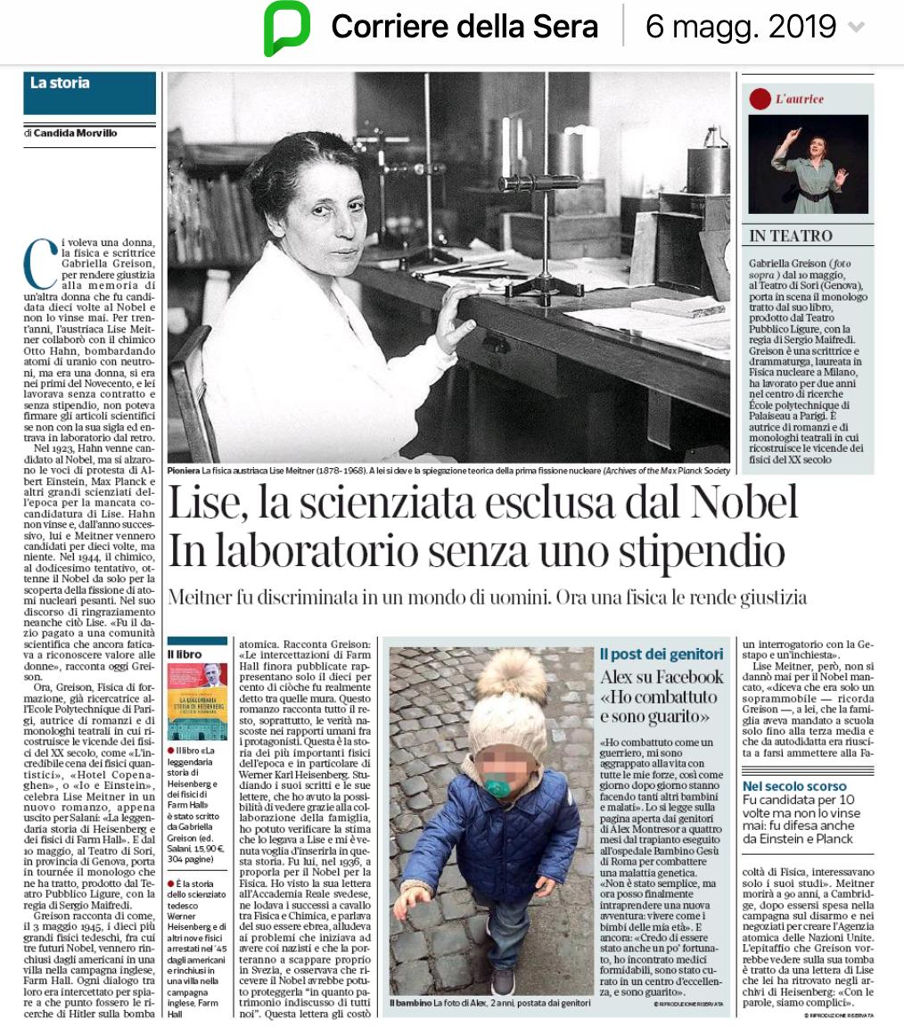 Style Corriere Della Sera Calendario Uscite.Sulla Rivista F Del Corriere Della Sera In Edicola Mi