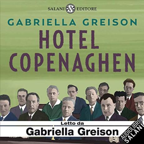 E' uscito il nuovo audiolibro HOTEL COPENAGHEN, il mio romanzo su Niels Bohr e la scuola di Copenaghen letto per Audible!