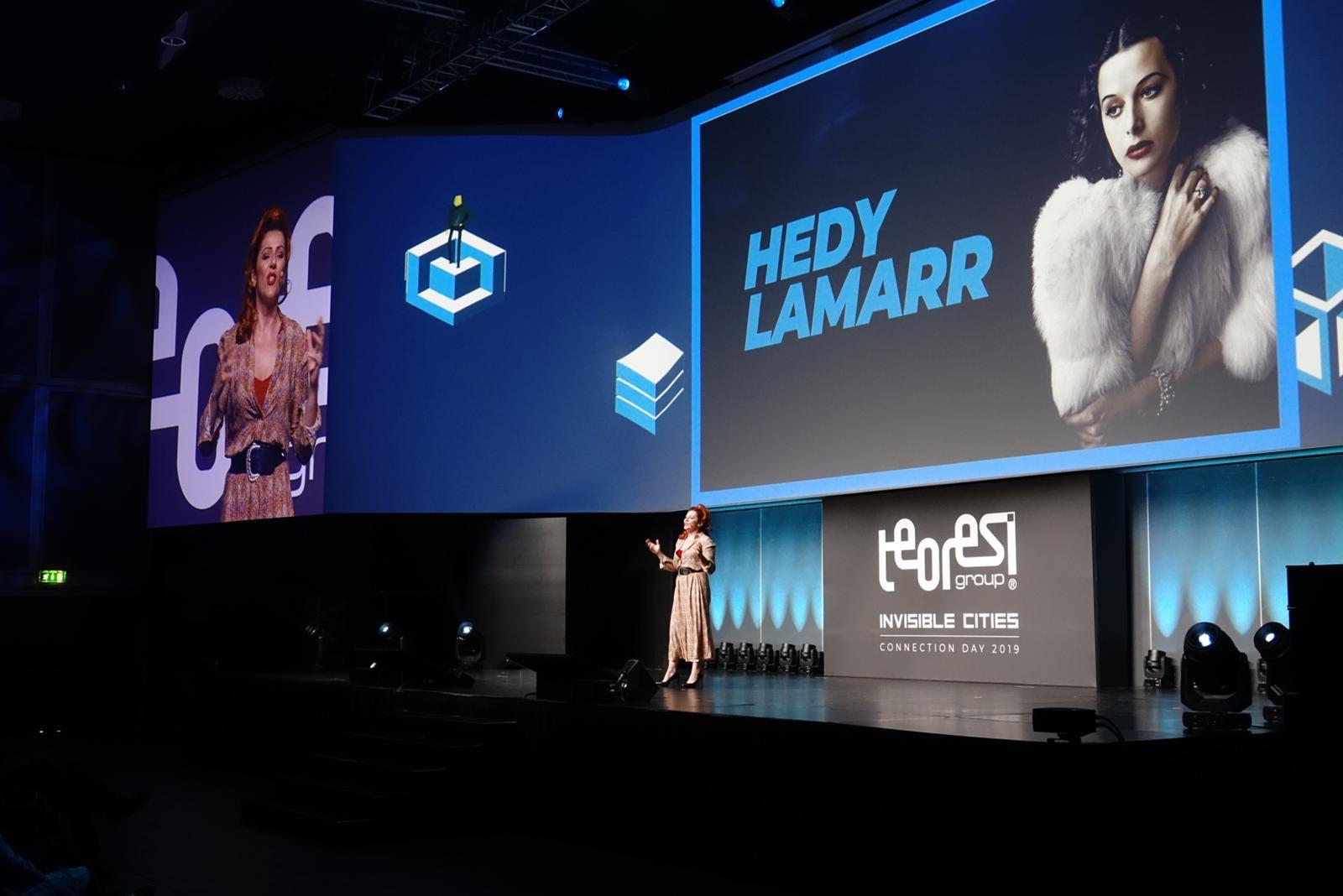 Il mio monologo su HEDY LAMARR ad una convention con mille ingegneri…ecco il racconto!