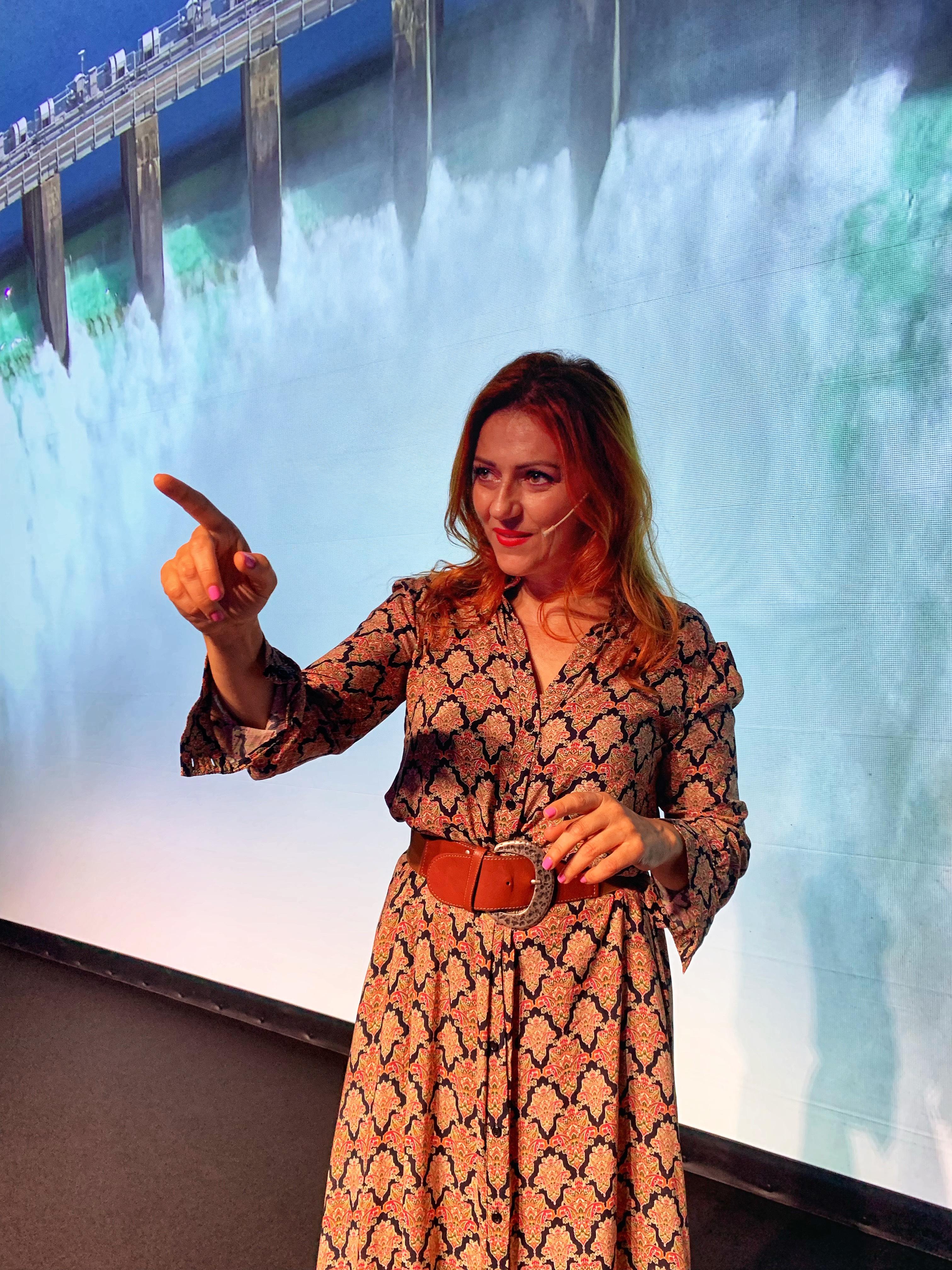 Il monologo a Venezia e l'evento sull'acqua, ambiente e cambiamenti climatici di cui sono stata madrina…ecco il racconto!