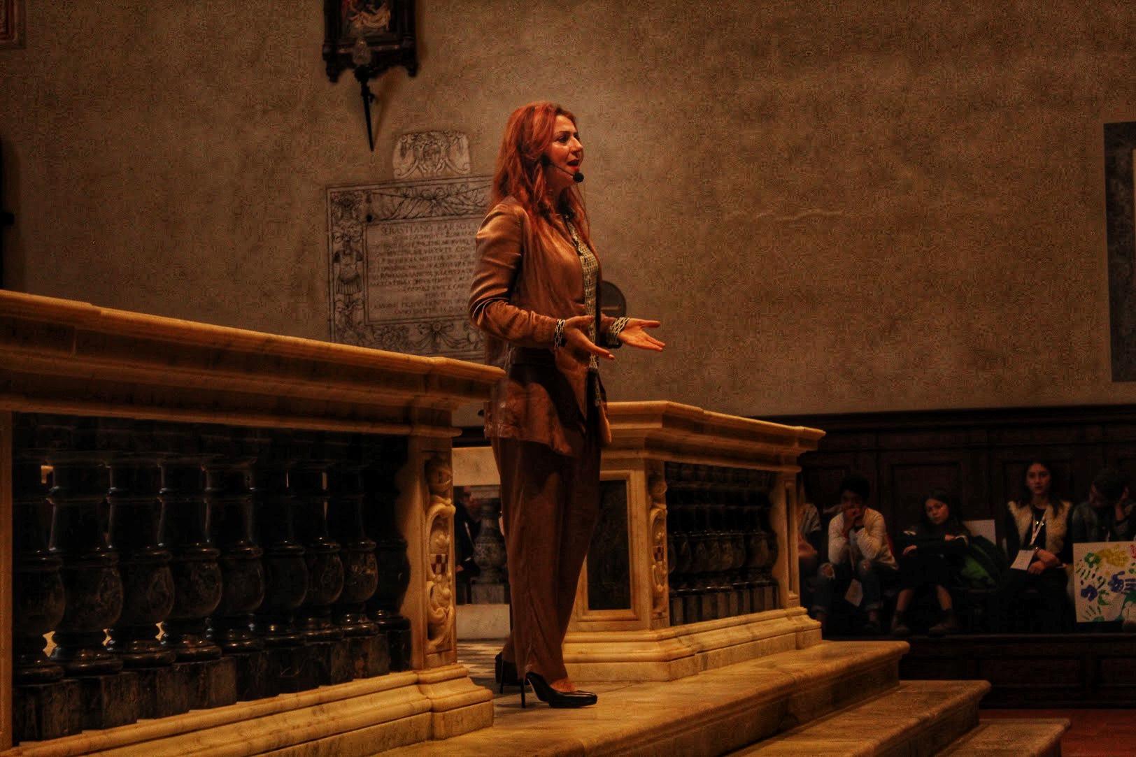 Ci vediamo venerdì a Trieste, e sabato a Milano per Bookcity! L'evento a Lucca organizzato dal Miur è stato bello (ho fatto il monologo in una chiesa!)