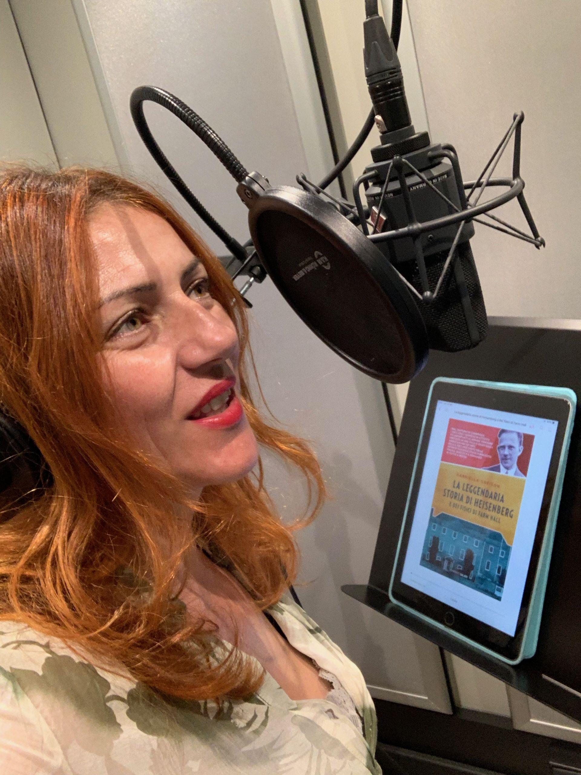 """Da oggi la versione audiobook di """"La leggendaria storia di Heisenberg e dei fisici di Farm Hall""""!"""
