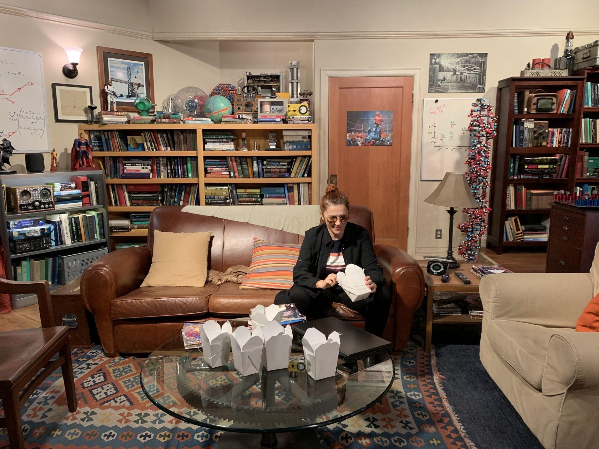Qui Hollywood, sono stata sul set di The Big Bang Theory, e poi finalmente con la stella di Hedy Lamarr…