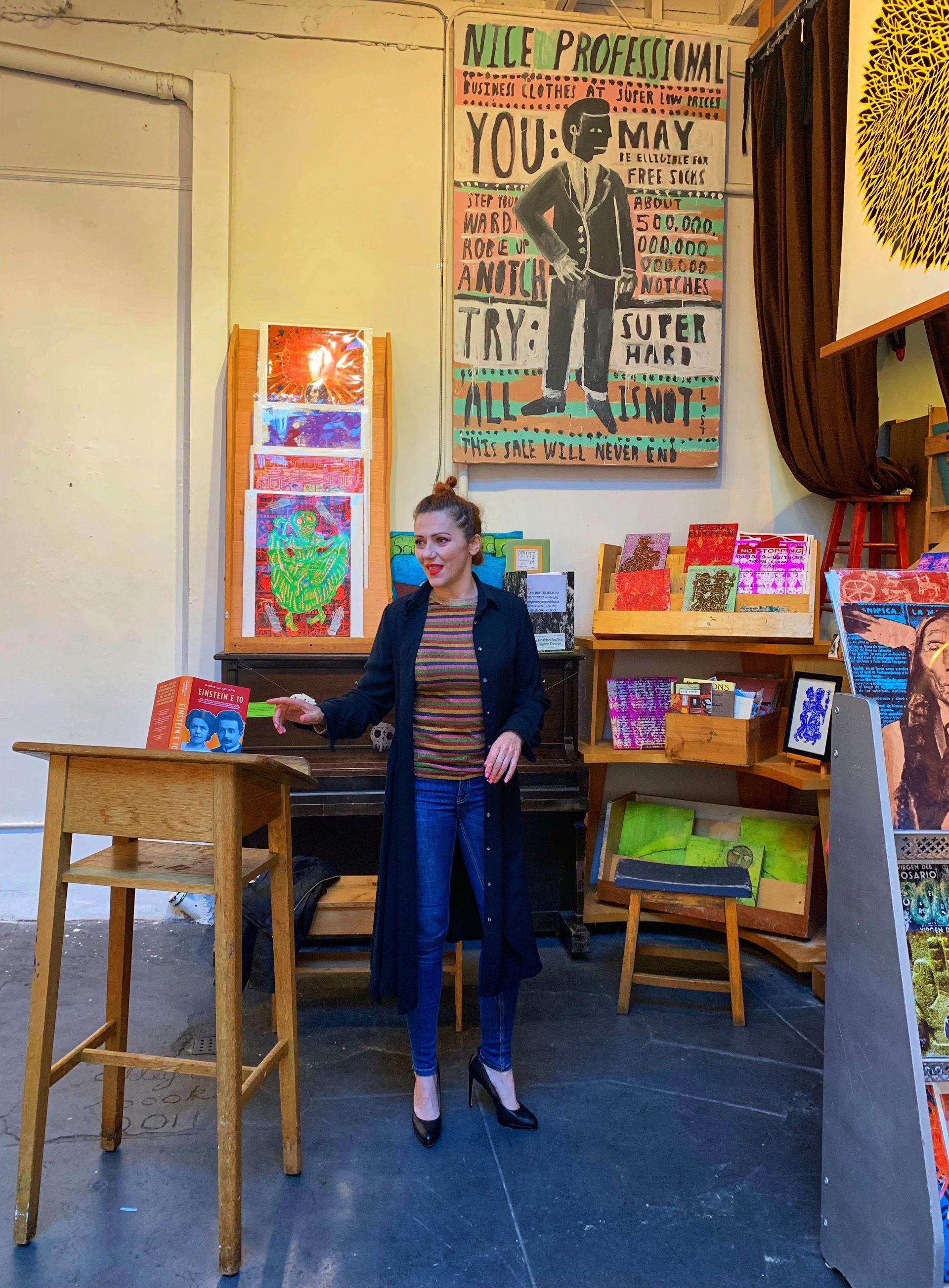 Il mio mese in California si conclude con il racconto di Mileva Maric qui in America…e un'intervista su OZY che uscirà a Gennaio2020…buon anno a tutti!