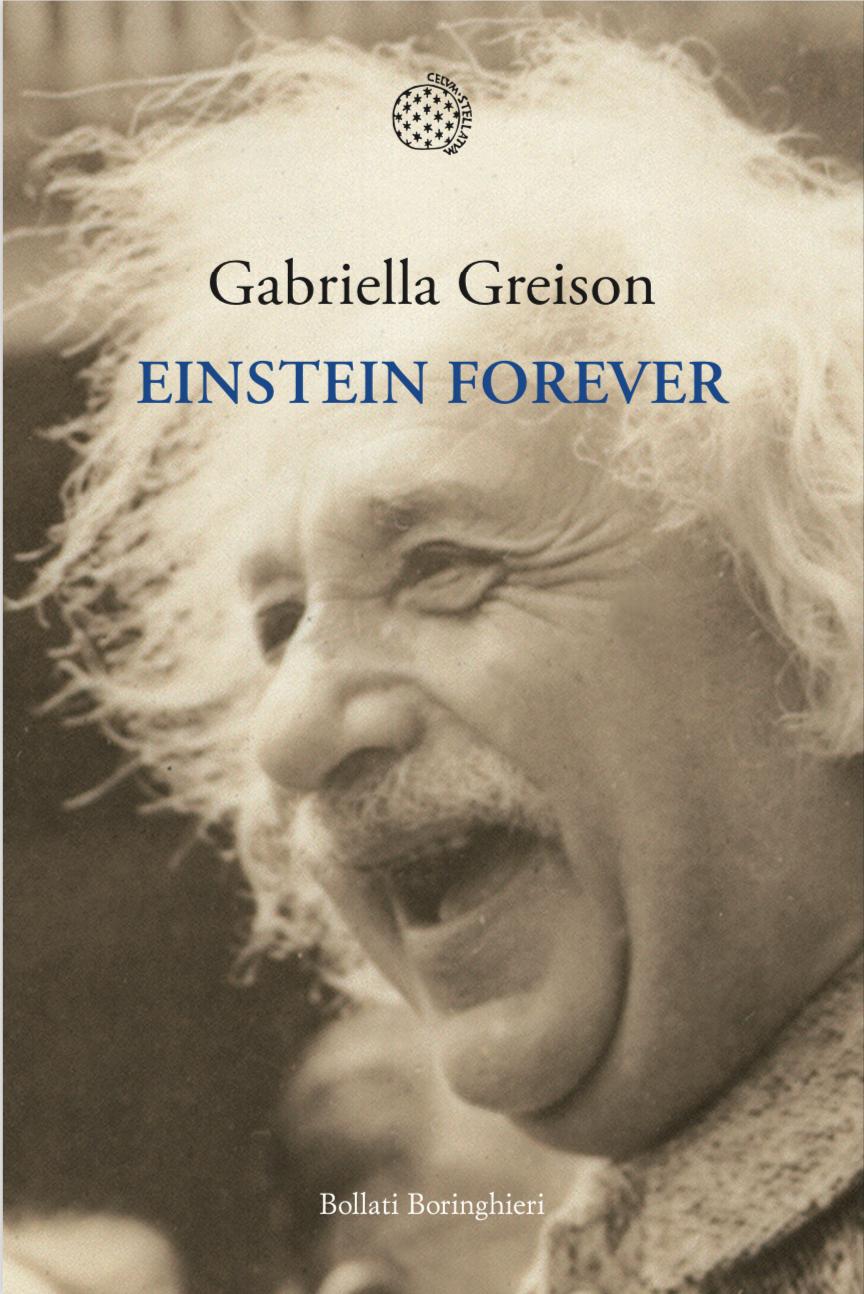 Svelata la copertina del mio nuovo libro EINSTEIN FOREVER (esce il 9 Gennaio 2020, anche su Audible)!
