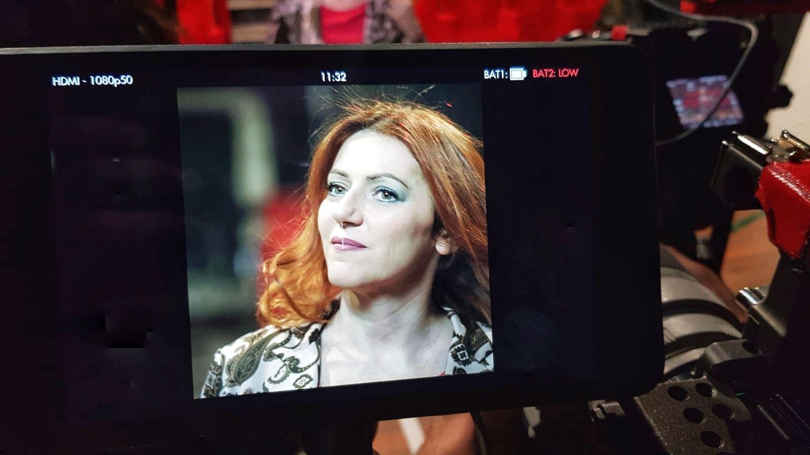 Mi sono raccontata alle telecamere di Freeda, l'intervista la diffonderanno martedì nel web…è stato bello!