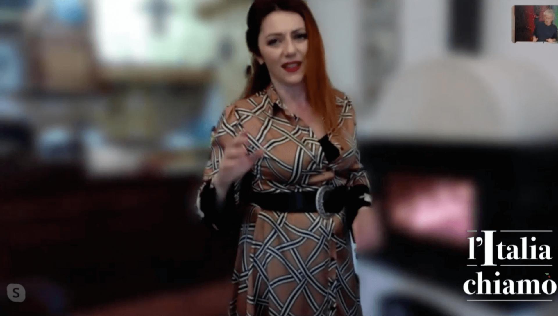 Ho partecipato alla diretta streaming su youtube #litaliachiamo con il mio monologo su Hedy Lamarr!