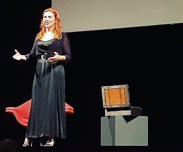 """Ho fatto il monologo """"Cara Marie Curie"""" al Teatro Piccolo di Milano…molto emozionante!"""