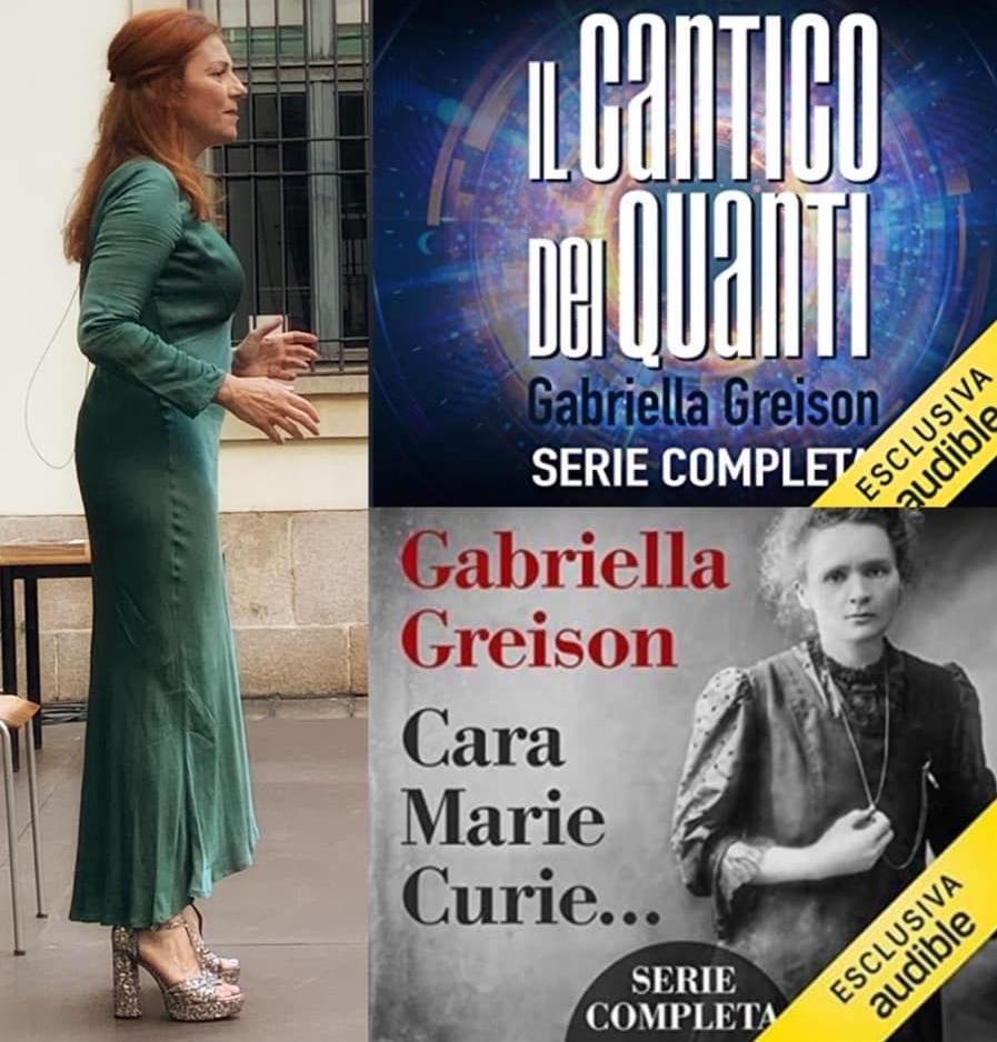 """Porto in scena per due date il mio secondo podcast """"Cara Marie Curie…"""" a Camogli il 12 e a Milano il 20 al Teatro Piccolo!"""