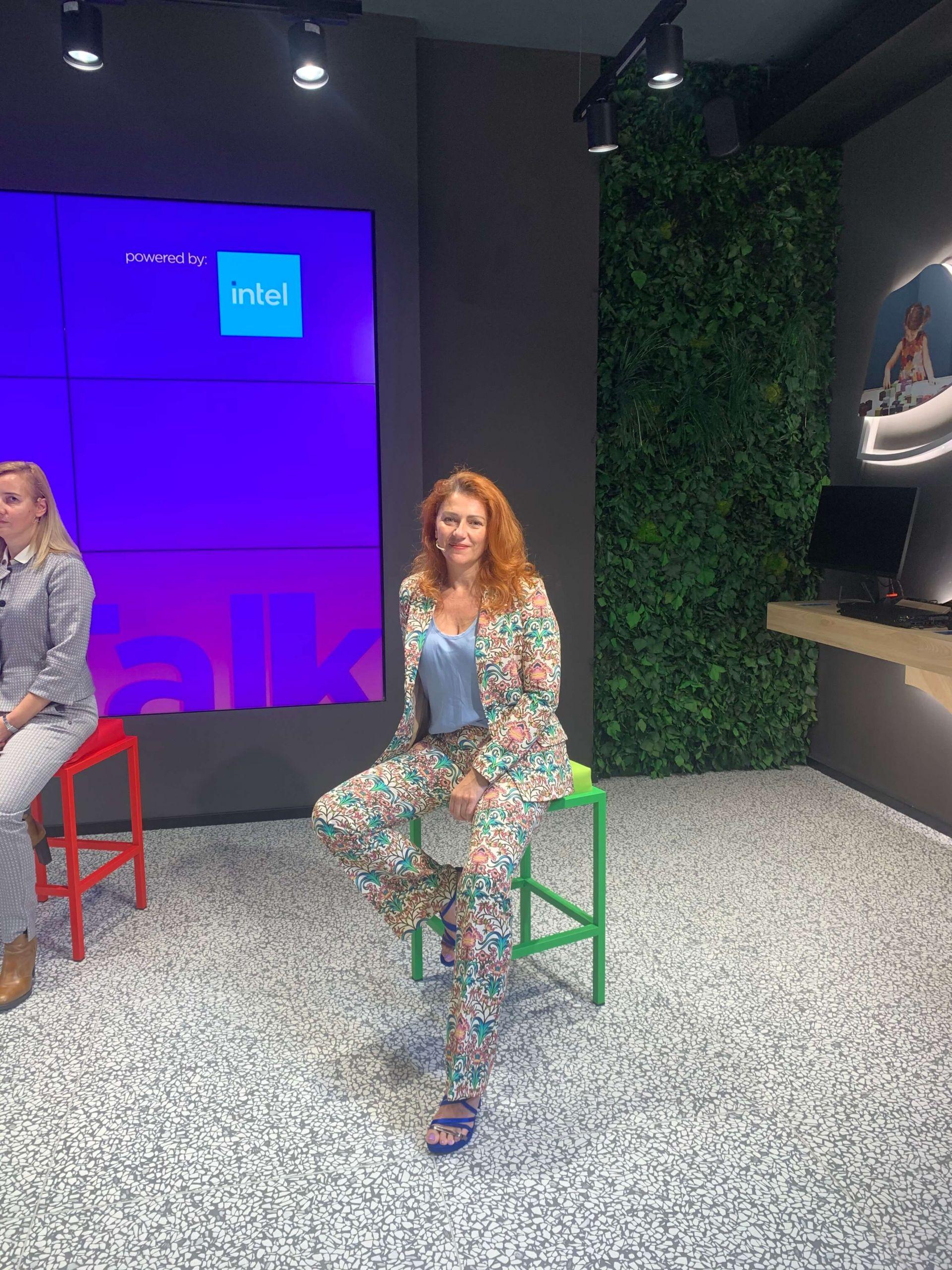Intervistata su Stem e donne della scienza, nel nuovo spazio Lenovo di Milano…