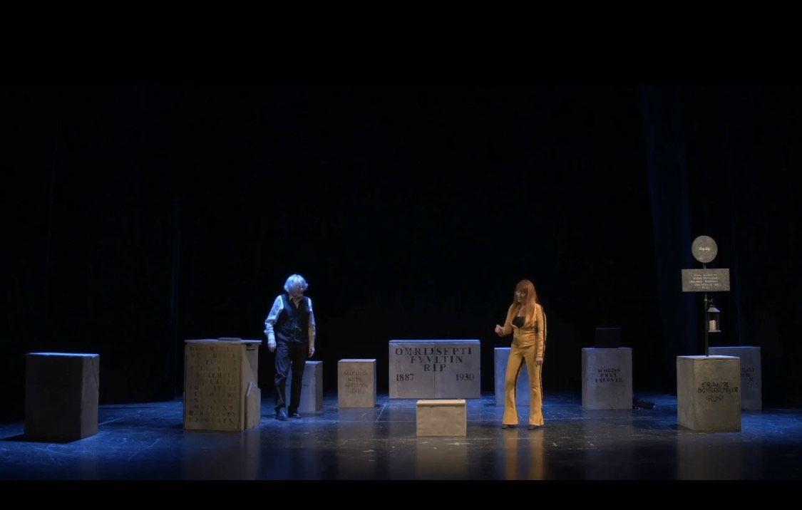 """Abbiamo debuttato in streaming in diretta dal Teatro di Salsomaggiore con """"Ucciderò il gatto di Schroedinger""""!"""