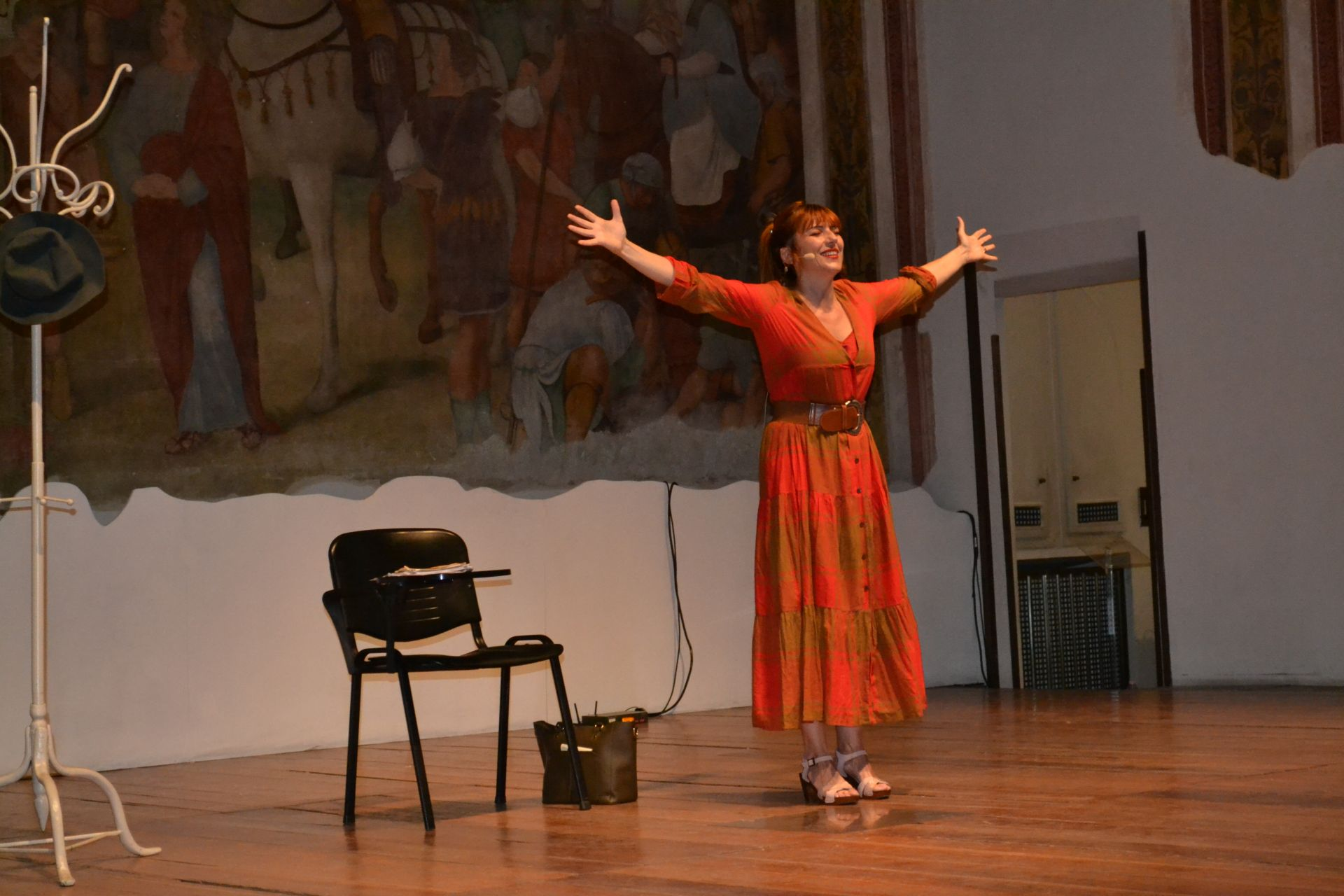L'altra sera monologo su Mileva Maric…è stato bello!